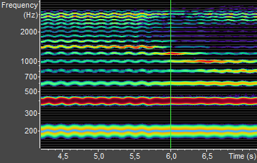 Spectrogram Display